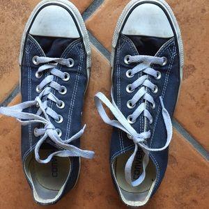 Blue converse size 8
